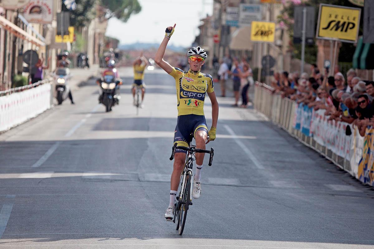 La vittoria di Matteo Natali a Lamporecchio