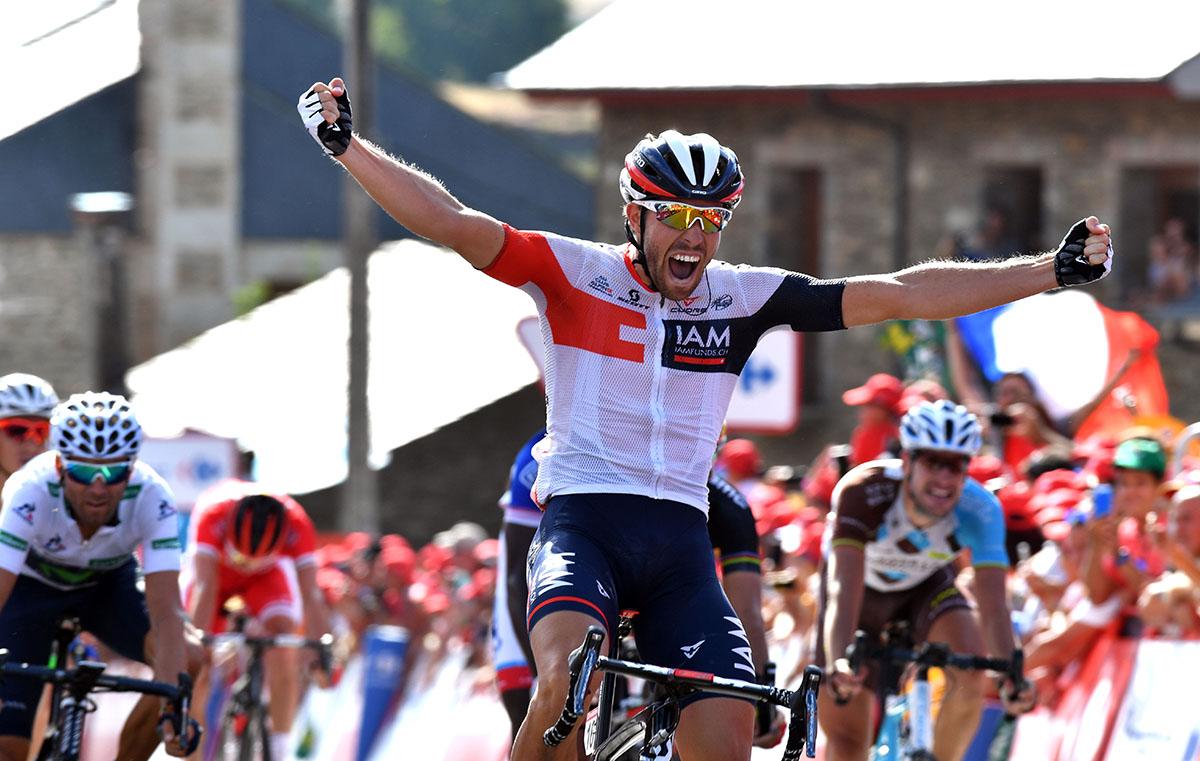 Jonas Van Genechten vince la settima tappa della Vuelta a España