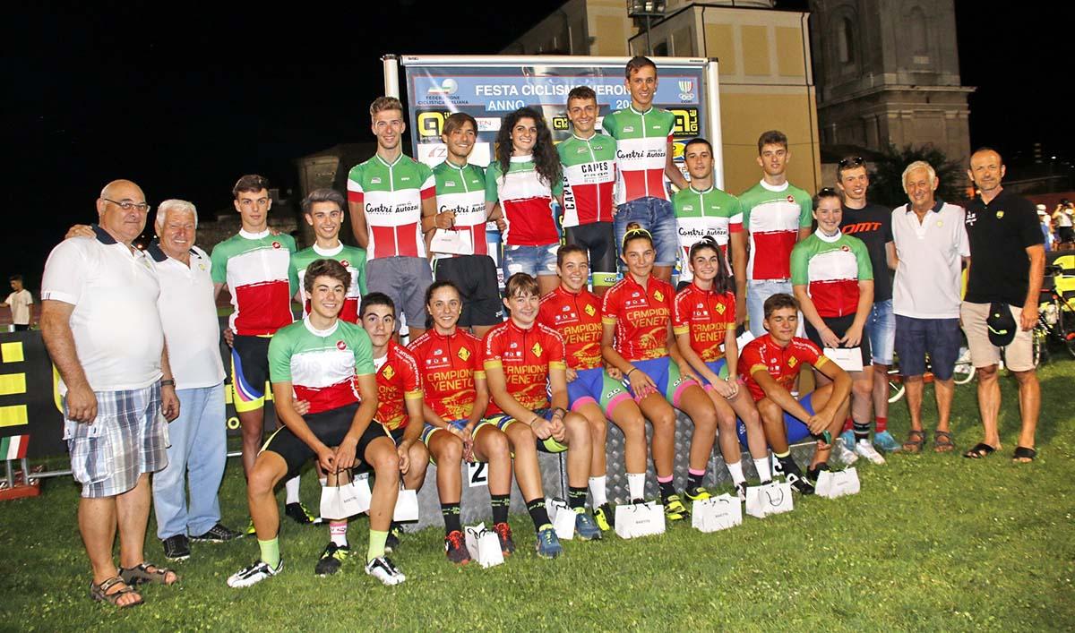Tutti i campioni italiani del Veneto celebrati a Pescantina
