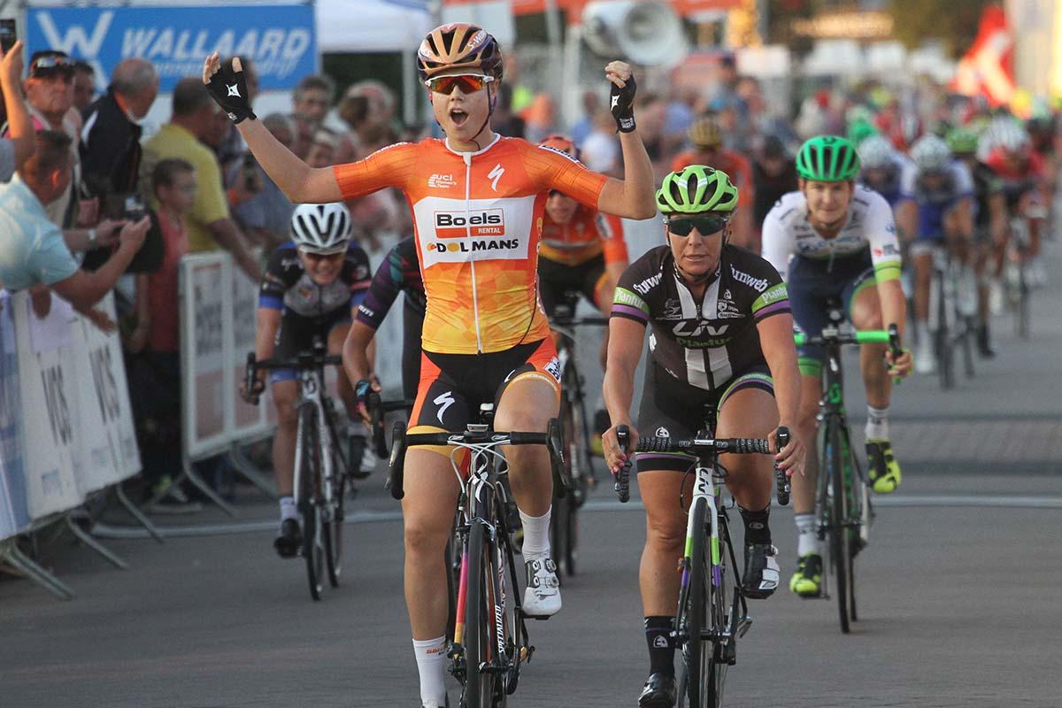 La vittoria di Amalie Dideriksen