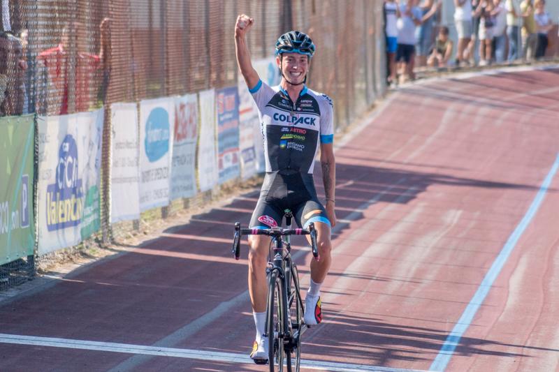 La vittoria di Filippo Zaccanti a Montallese di Chiusi