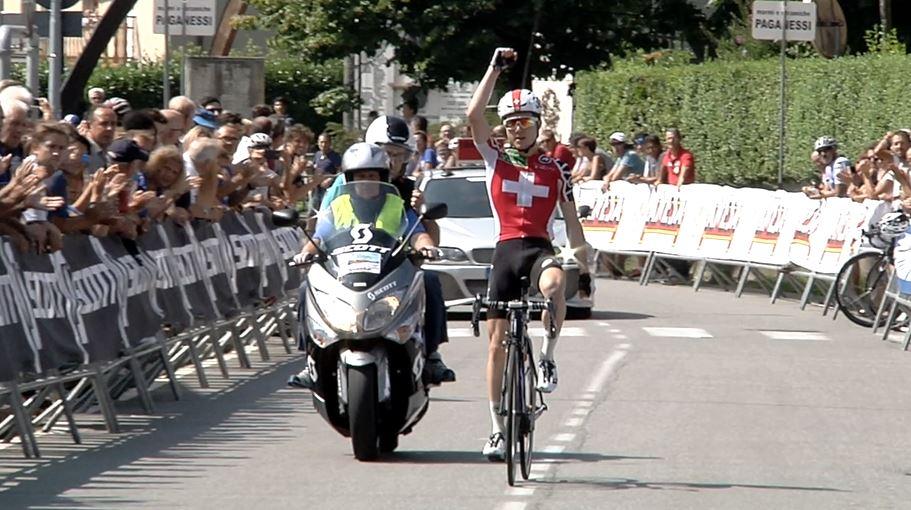 La vittoria dello svizzero Marc Hirschi al Trofeo Paganessi 2016