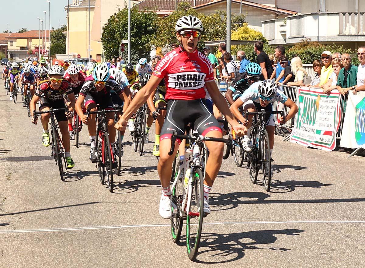 Luca Poggi vince la gara Esordienti 2° anno di Mede