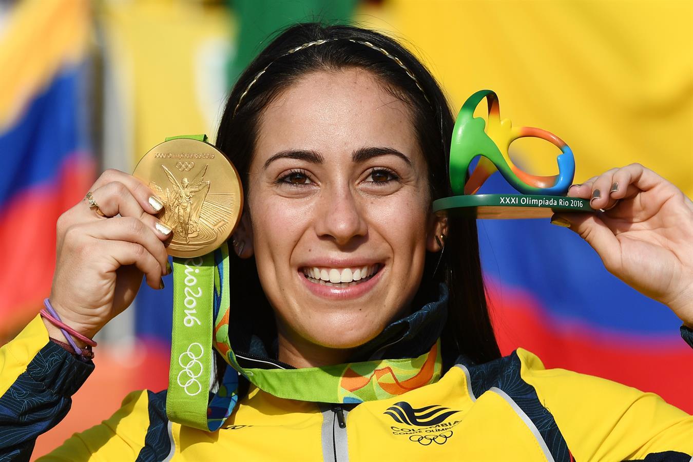 La colombiana Mariana Pajon campionessa olimpica BMX a Rio2016