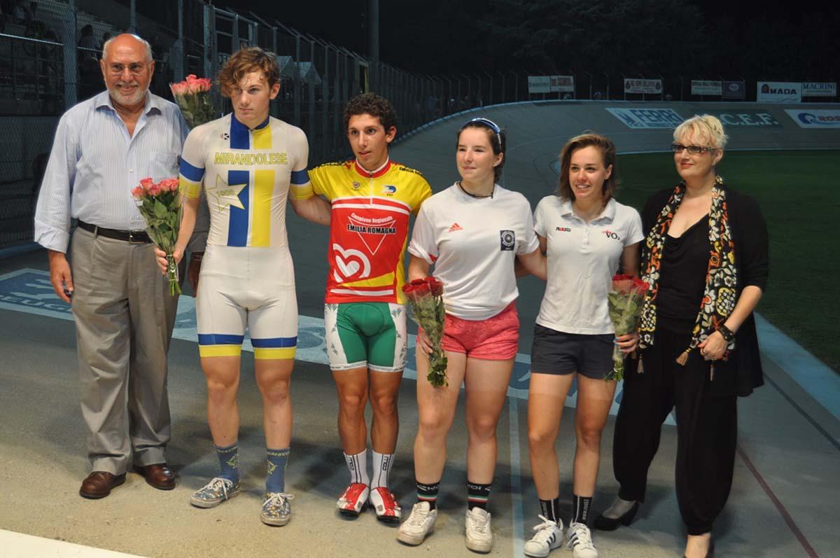 I vincitori delle gare di Fiorenzuola