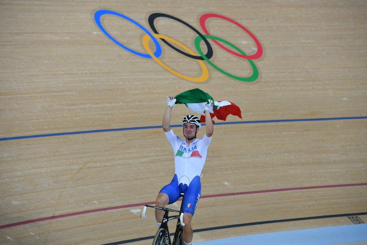 Elia Viviani riporta l'oro olimpico alla pista azzurra