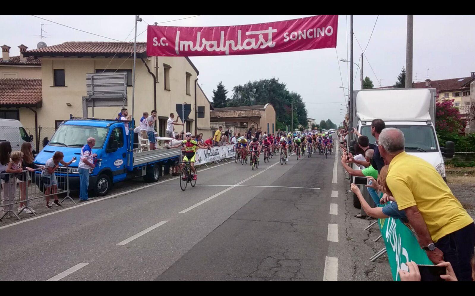 La vittoria di Gabriele Raccagni a Soncino