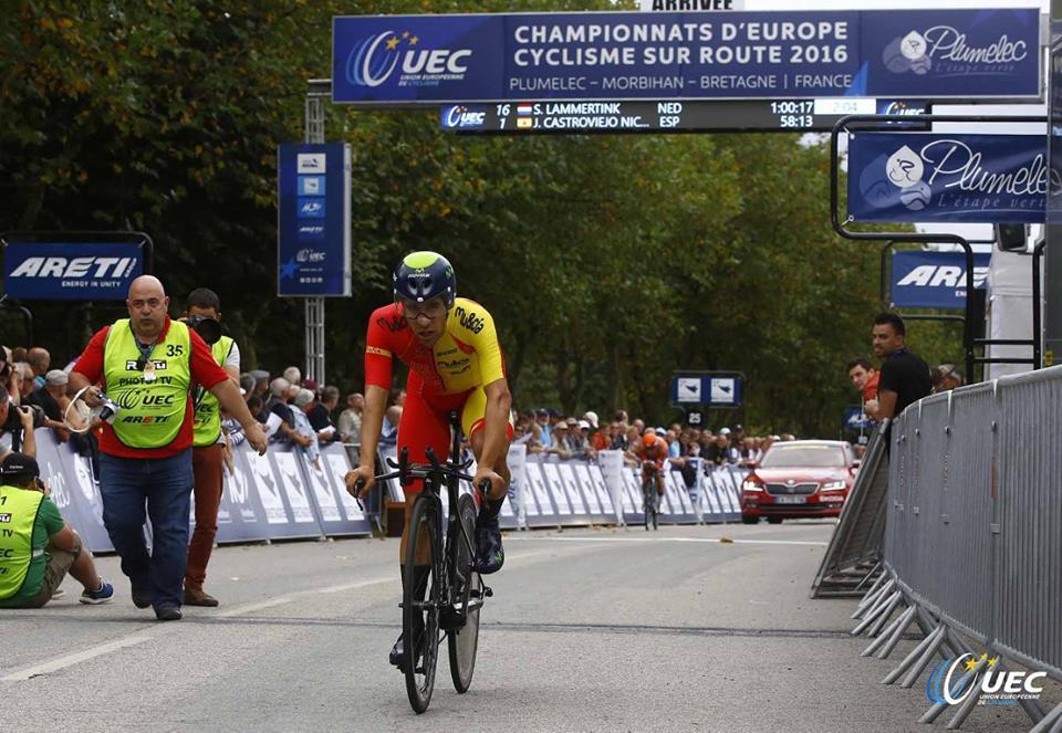 Castroviejo vince il primo Campionato Europeo a cronometro per professionisti