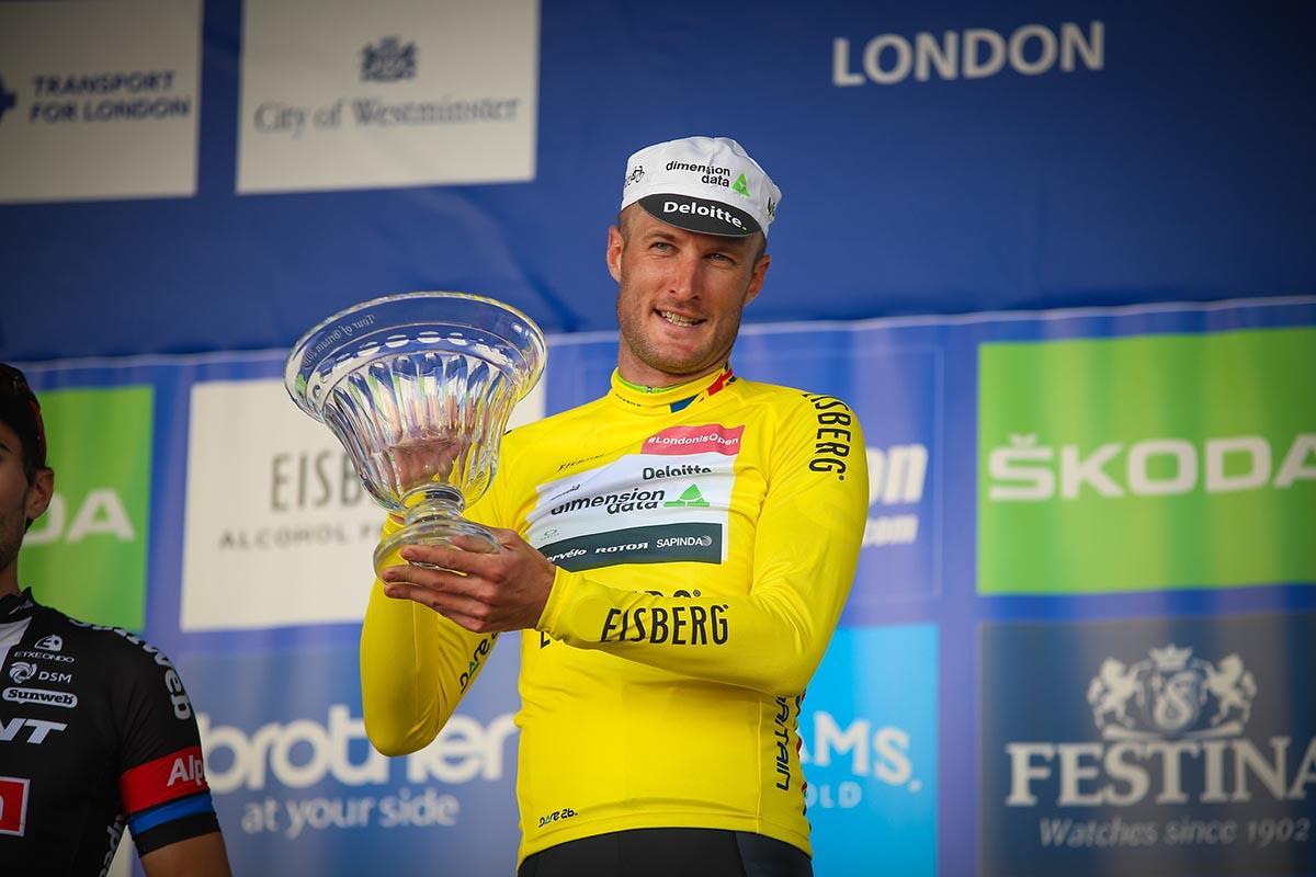 Stephen Cummings vincitore del Tour of Britain 2016