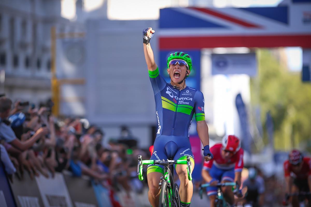 Caleb Ewan vince l'ultima tappa del Tour of Britain