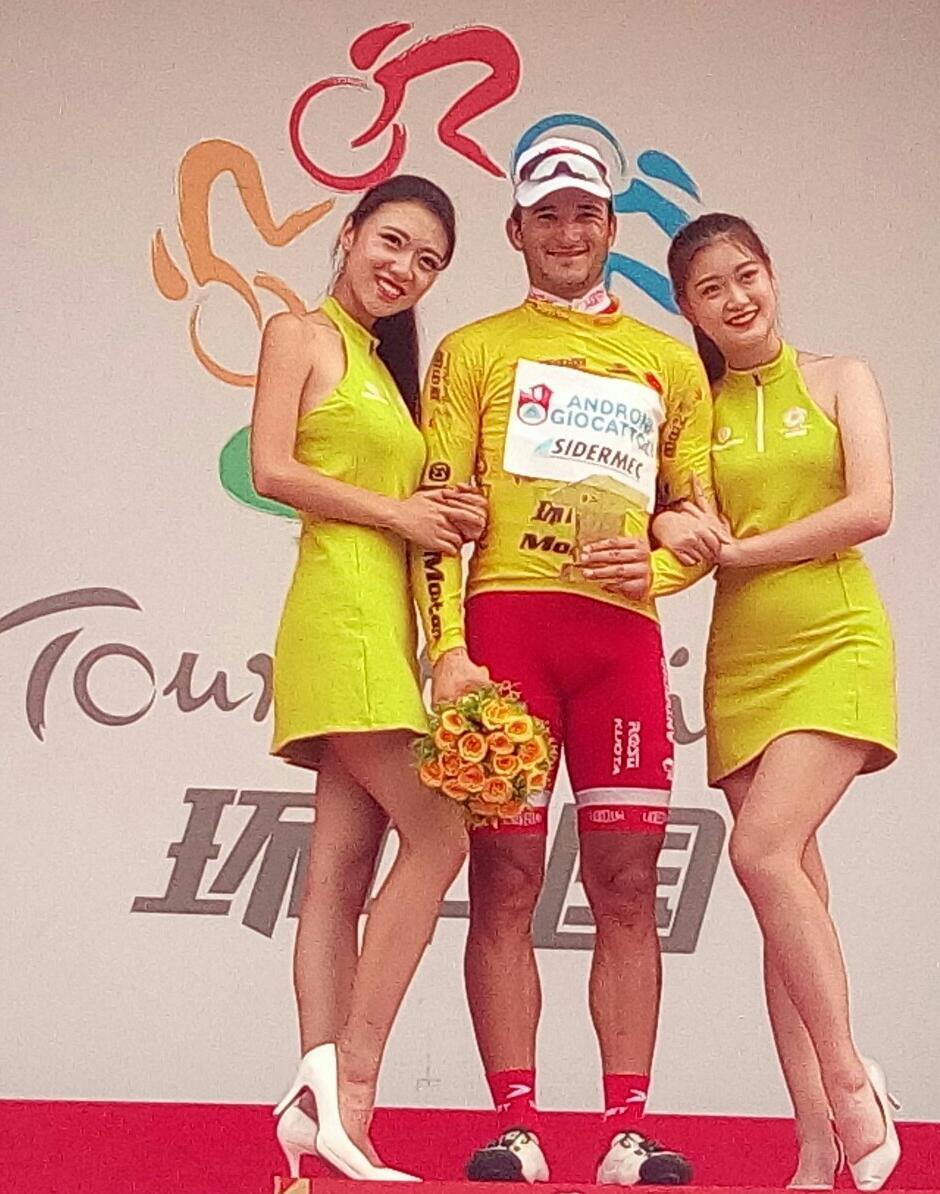 Marco Benfatto leader del Tour of China II
