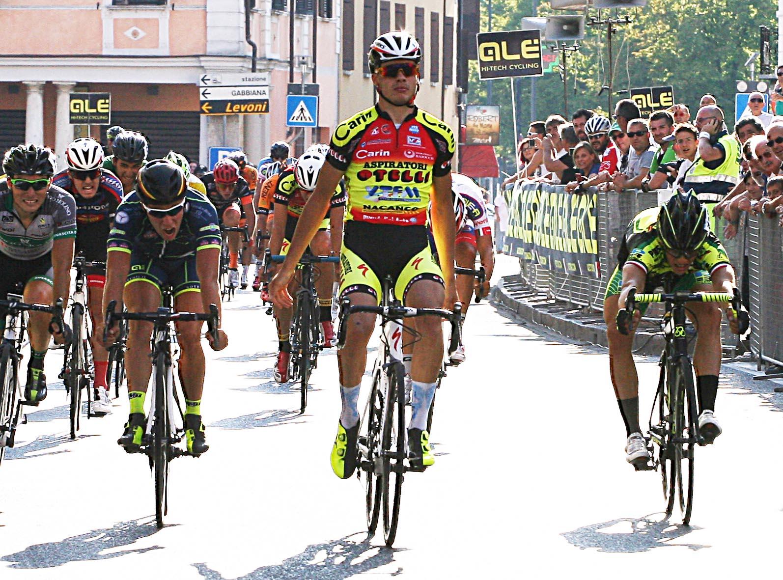 La vittoria di Michele Gazzoli a Castellucchio