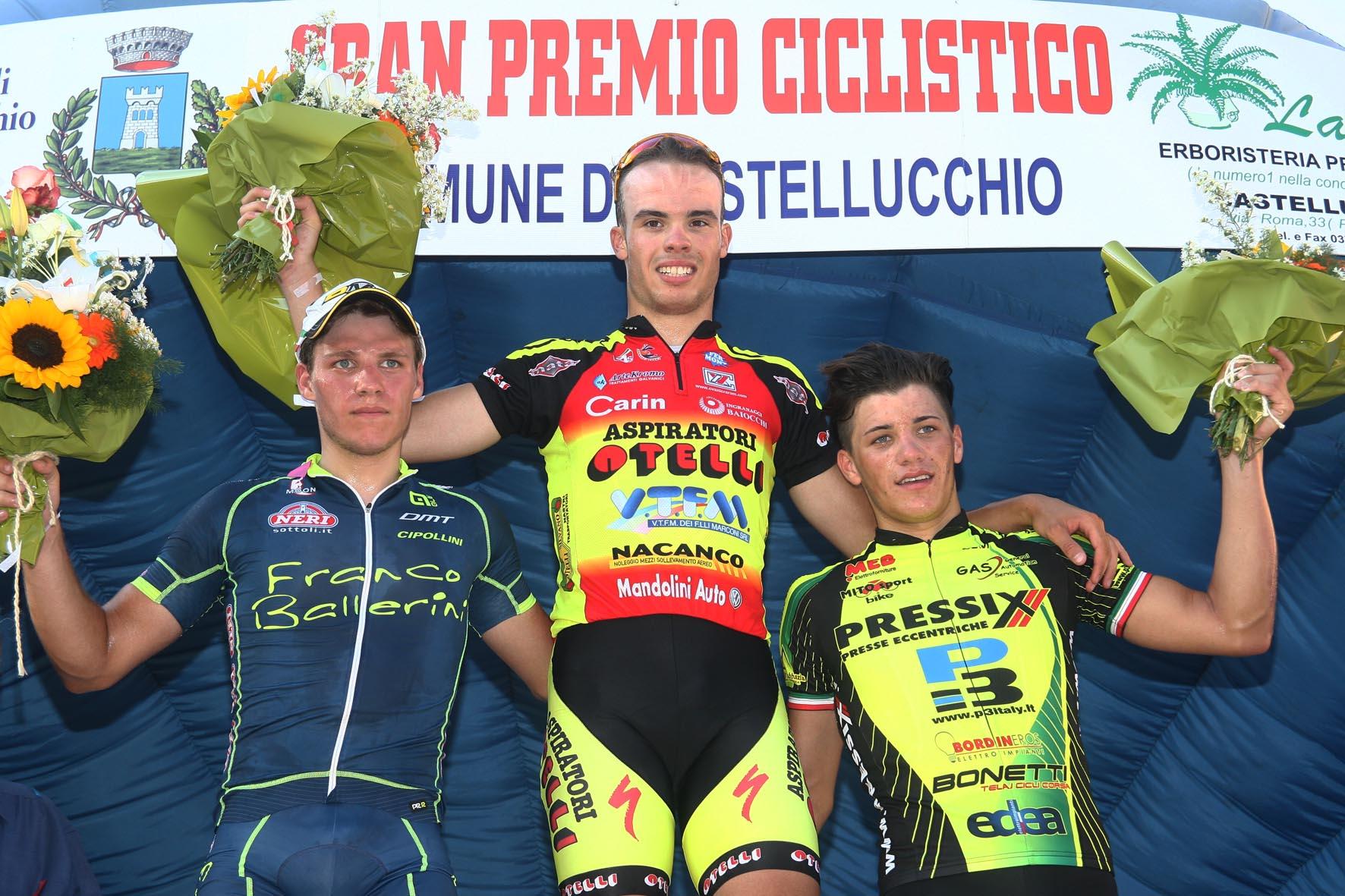 Il podio di Castellucchio