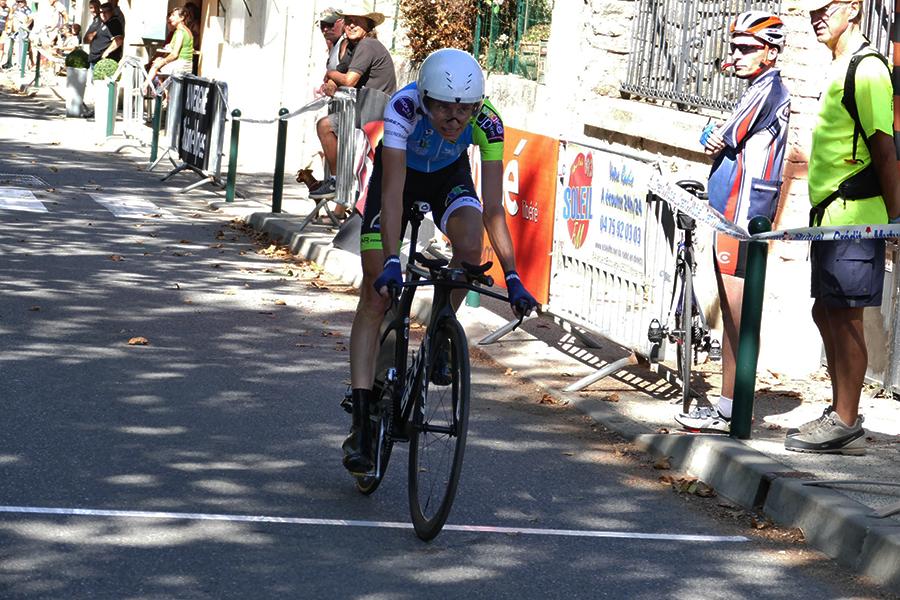 Edwige Pitel vince la cronometro del Tour de l'Ardeche