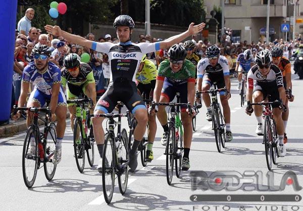 La vittoria di Attilio Viviani a Bernareggio