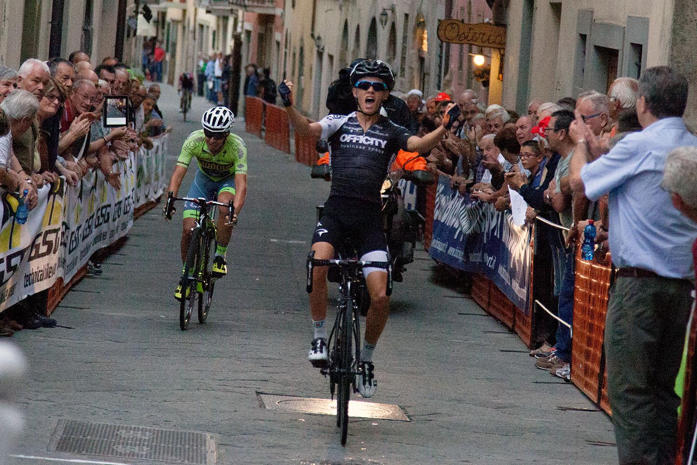 La vittoria di Matteo Fabbro a Laterina