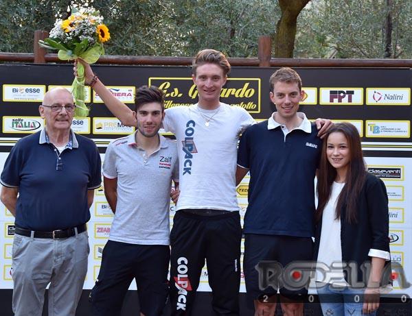 Il podio del Trofeo Gs Gavardo Tecmor 2016