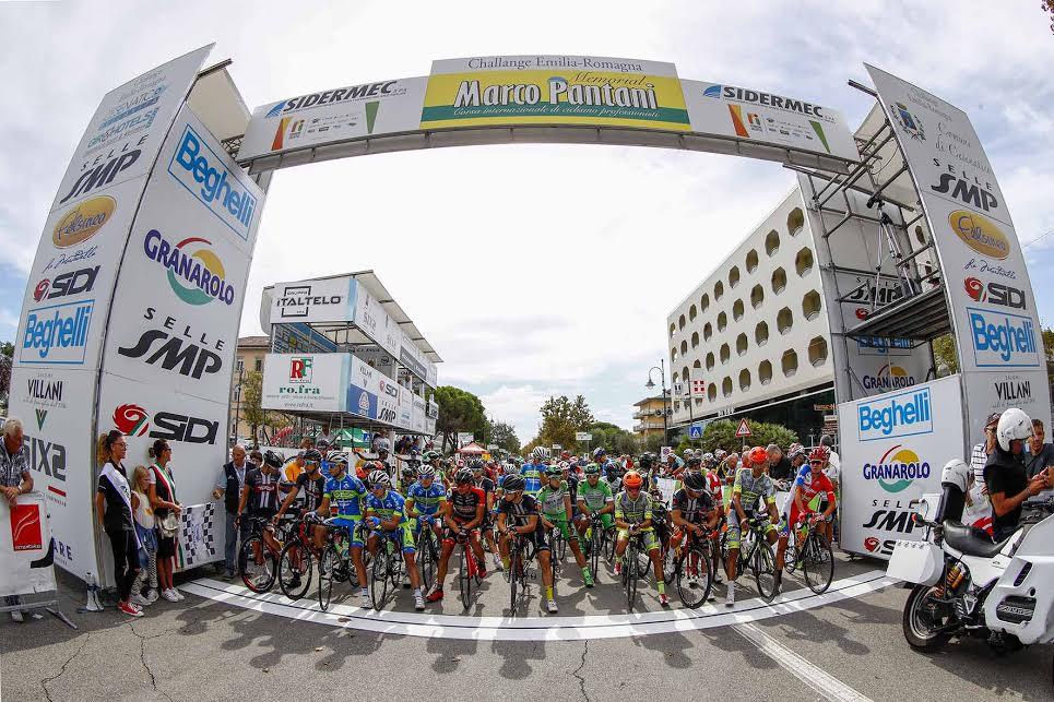 Memorial Marco Pantani 2016, la partenza