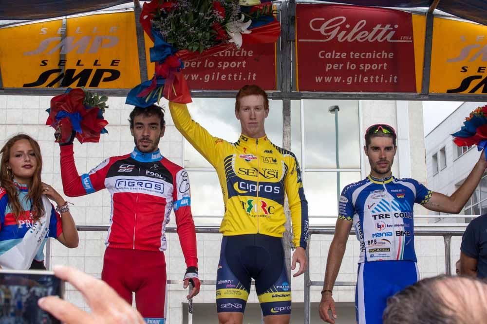 Il podio di Prato