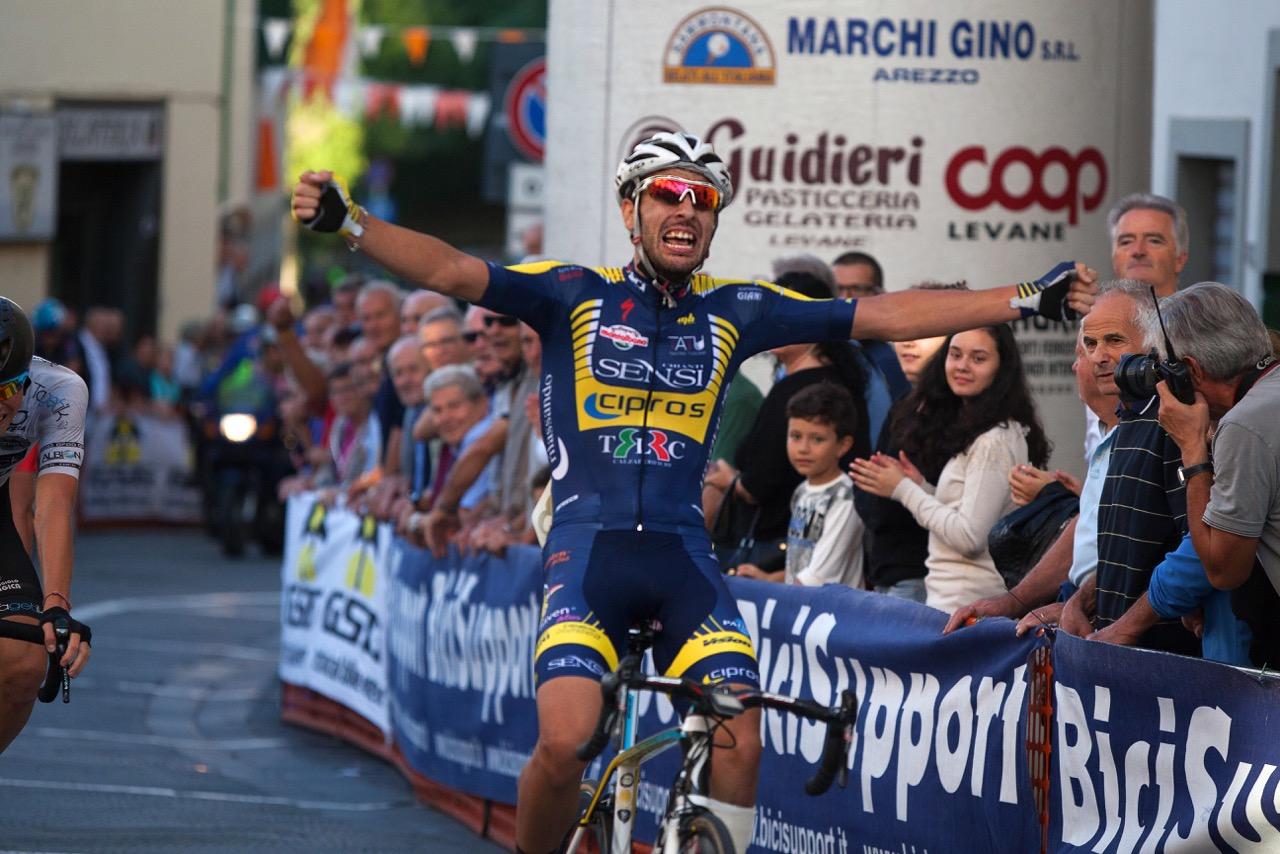 La vittoria di Paolo Baccio a Bucine