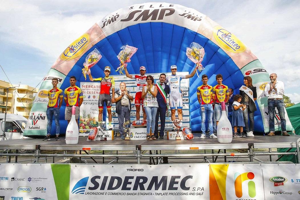 Memorial Marco Pantani 2016, il podio