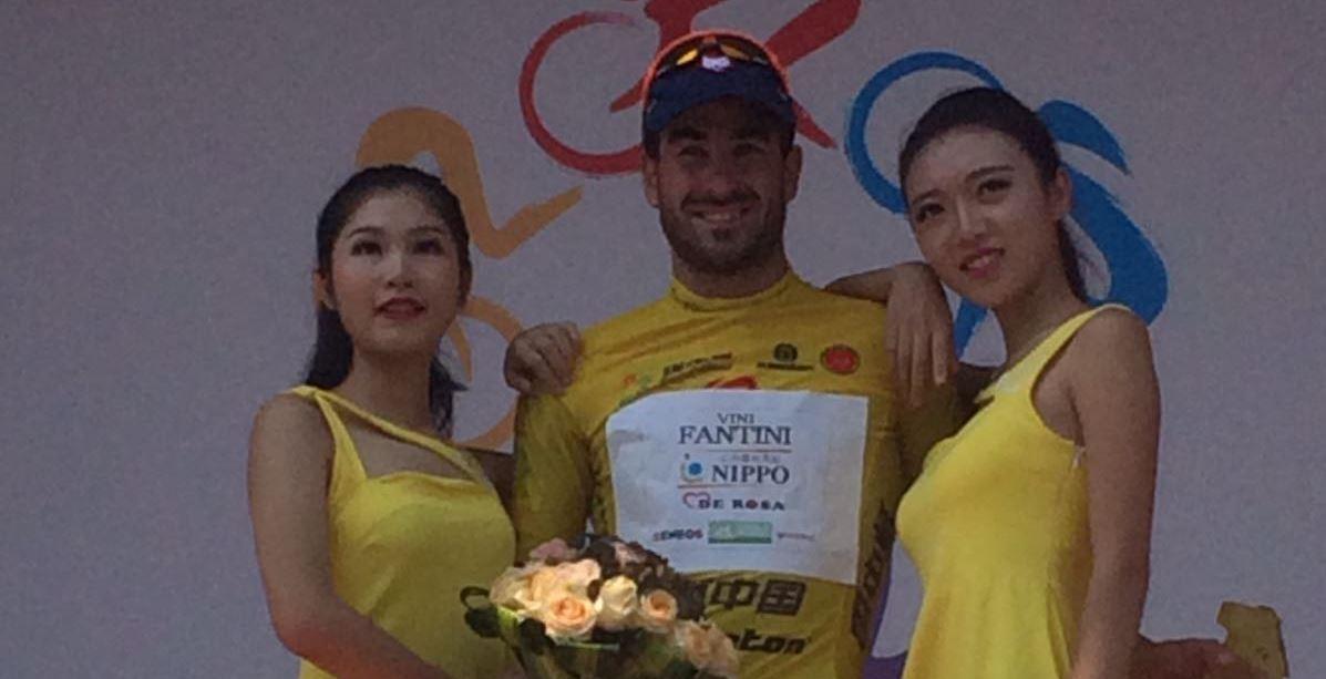 Riccardo Stacchiotti nuovo leader del Tour of China II