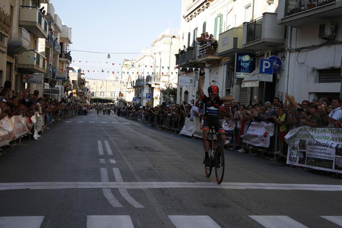 La vittoria di Antonio Zullo a Polignano a Mare