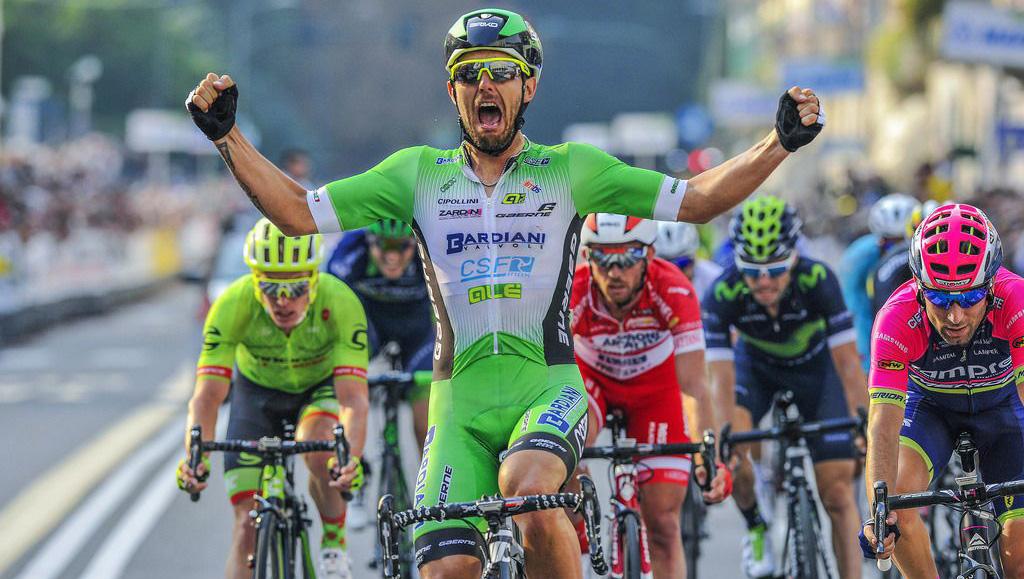 Sonny Colbrelli vince la Tre Valli Varesine 2016