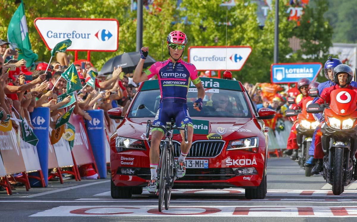 Bella vittoria di Valerio Conti alla Vuelta