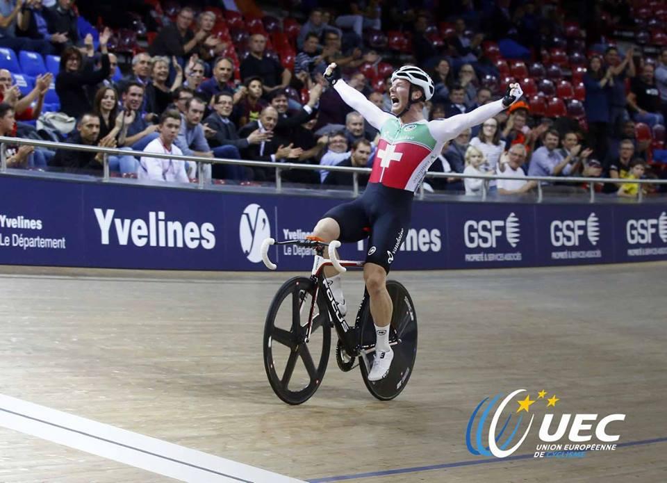 Lo svizzero Loic Perizzolo vince il titolo europeo dell'Eliminazione