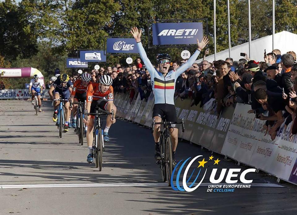 Il belga Quinten Hermans si conferma campione europeo Under 23