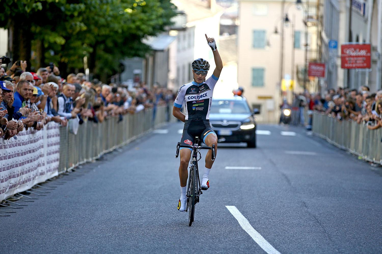 La vittoria di Fausto Masnada a San Daniele del Friuli