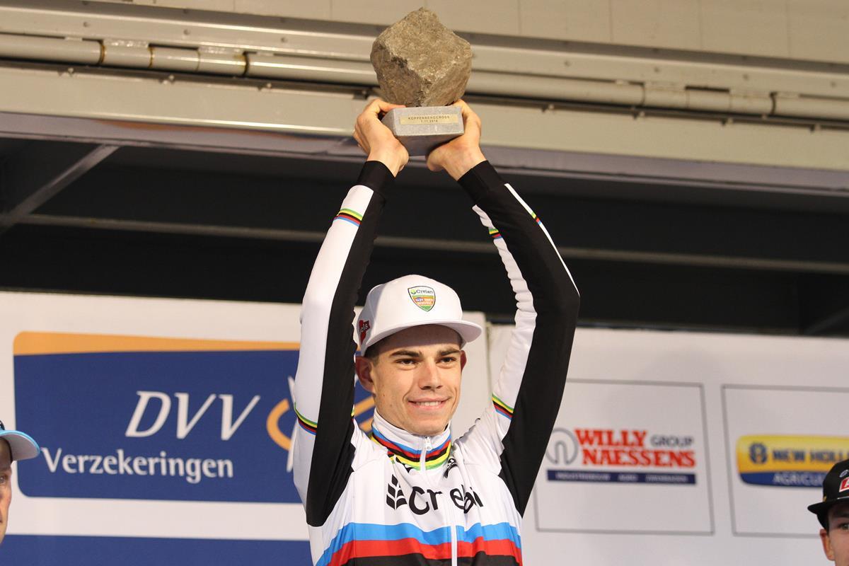 Wout Van Aert vincitore del Koppenbergcross