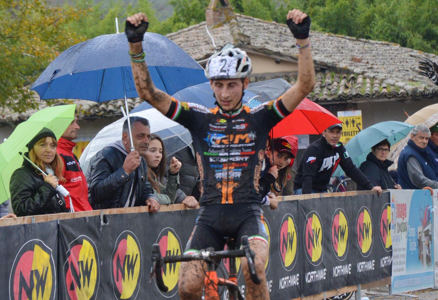 La vittoria di Antonio Folcarelli