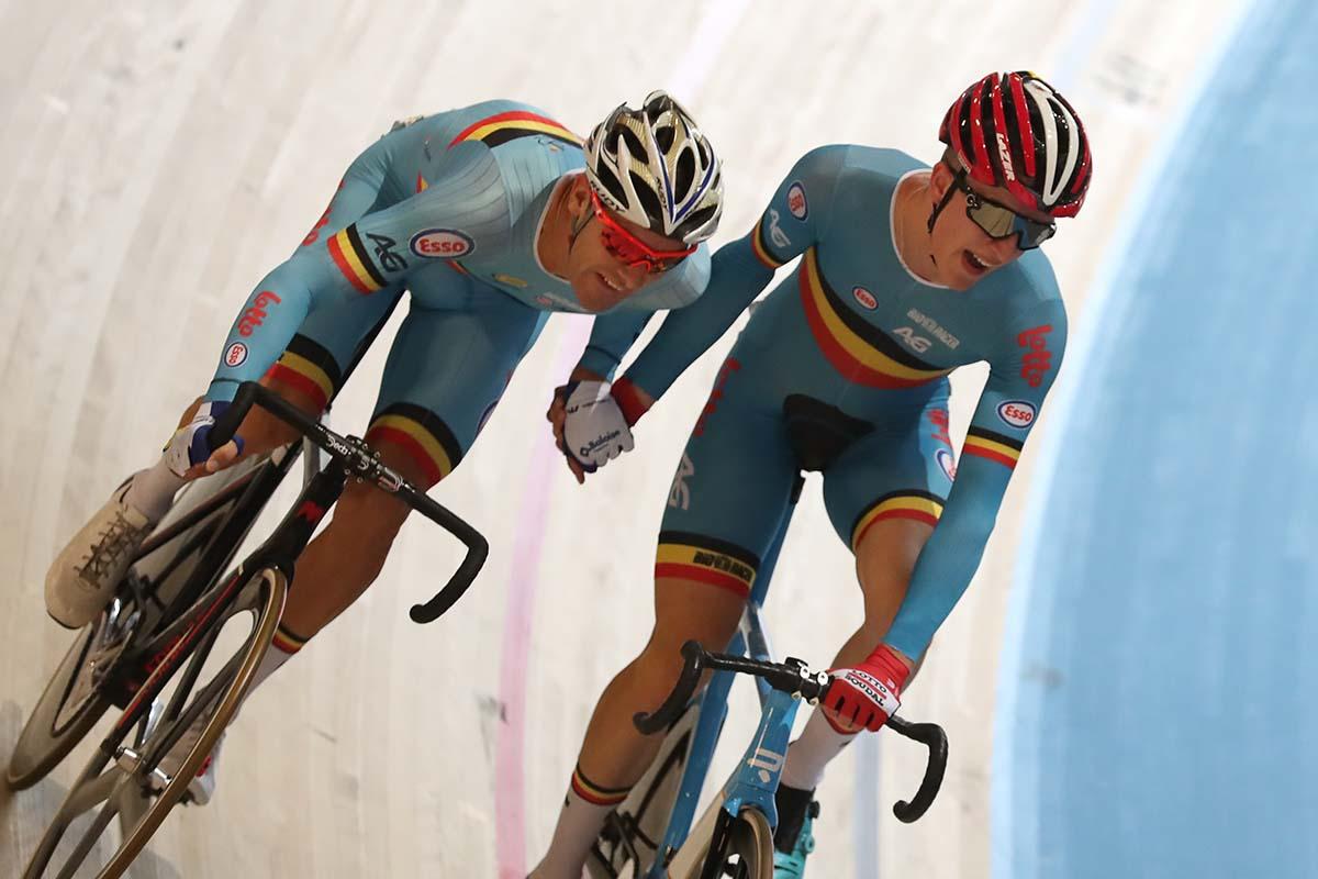 Robbe Ghys e Kenny De Ketele vincitori della Madison ad Abeldoorn