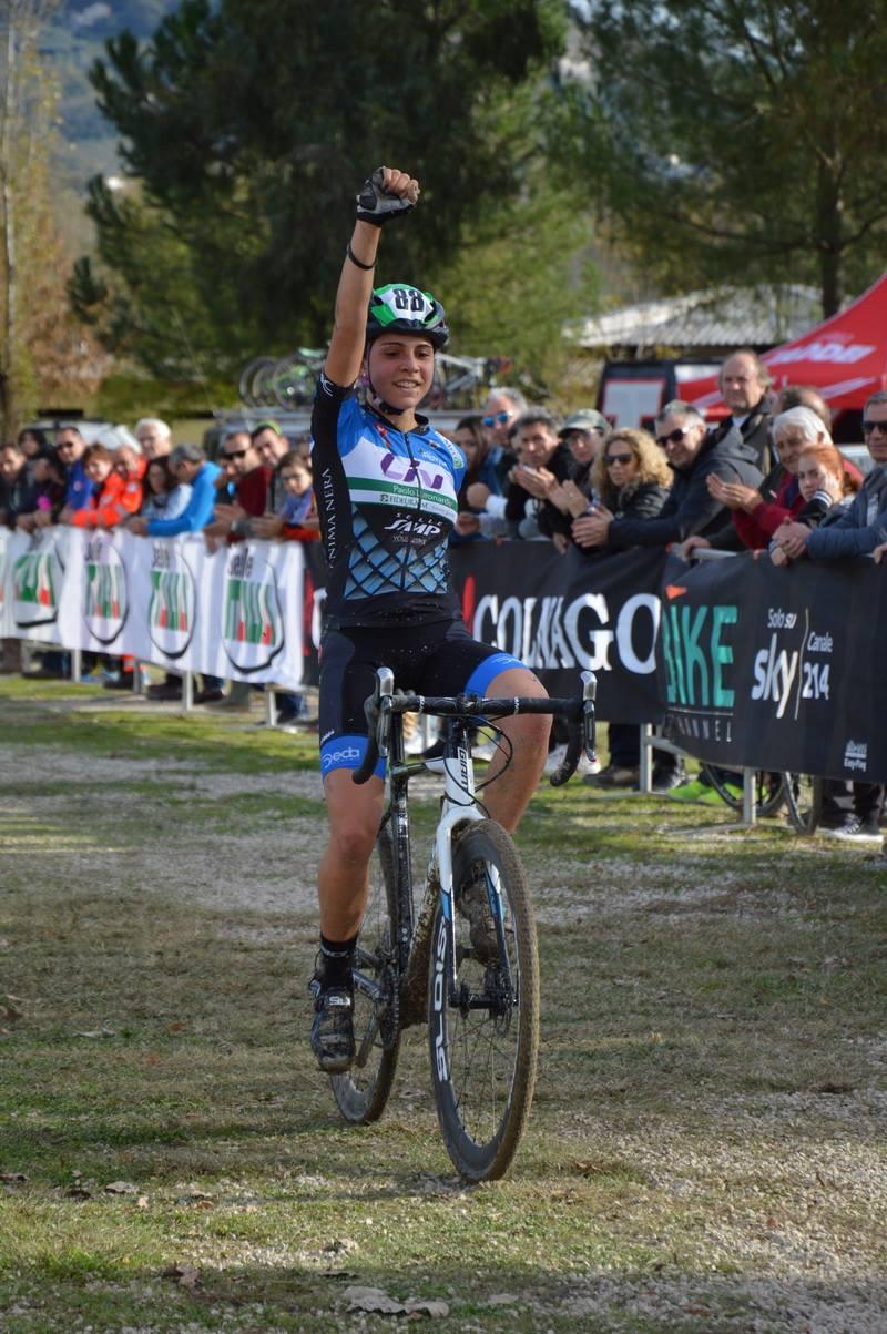 La vittoria di Sara Casasola