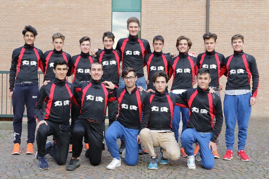 I ragazzi della GB Junior Team - Cc Cremonese 2017