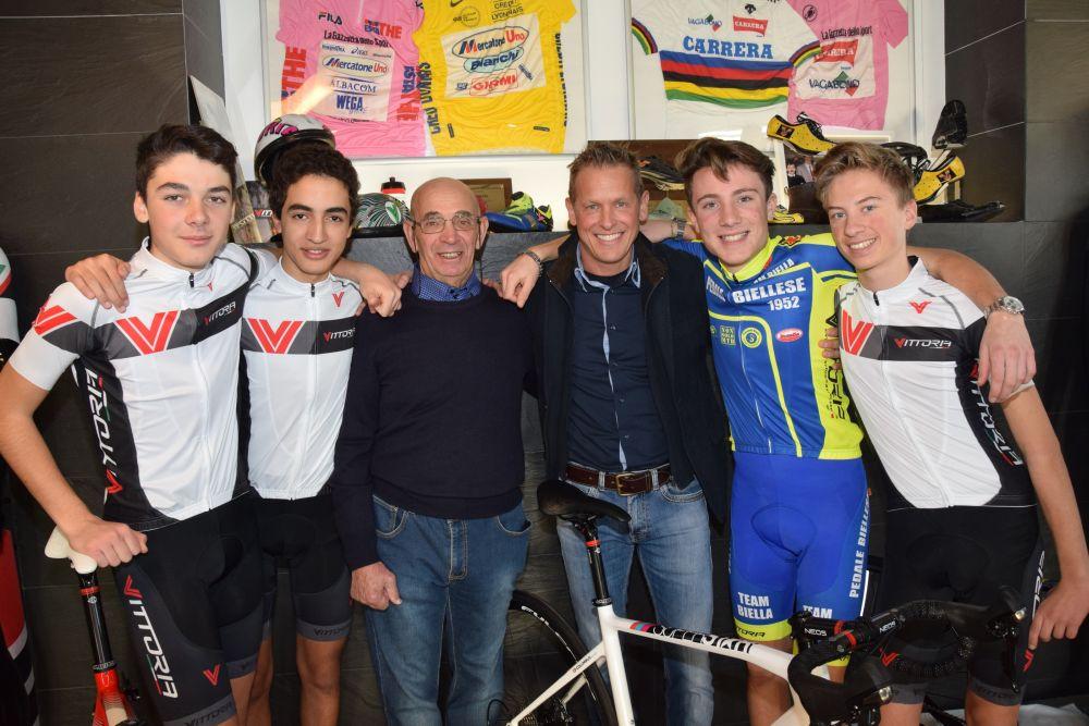 I ragazzi della Biella Cycling Academy