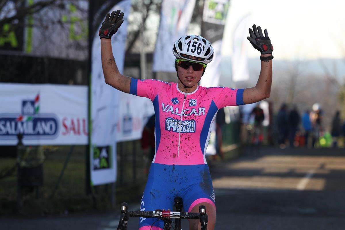 La vittoria di Silvia Persico a Lurago d'Erba