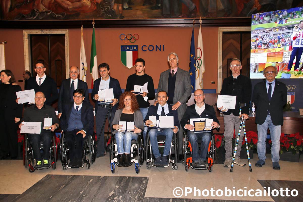 Premio per gli azzurri Paralimpici