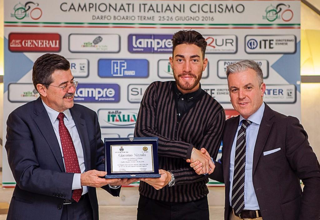 Giacomo Nizzolo cittadino onorario di Darfo Boario Terme