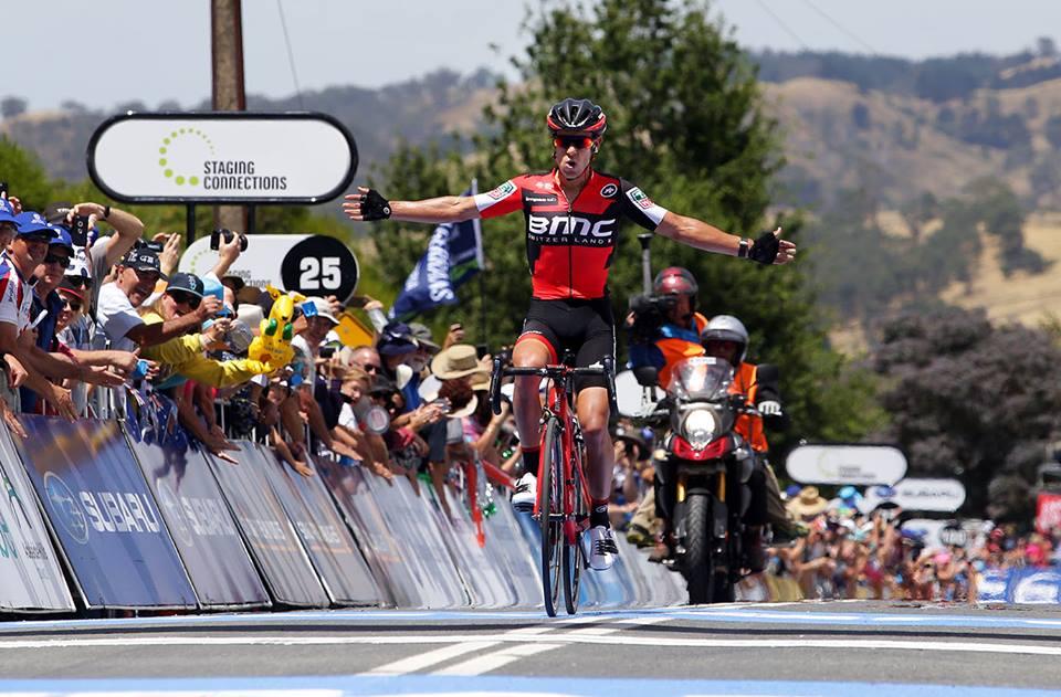 La vittoria solitaria di Richie Porte nella seconda tappa del Tour Down Under 2017