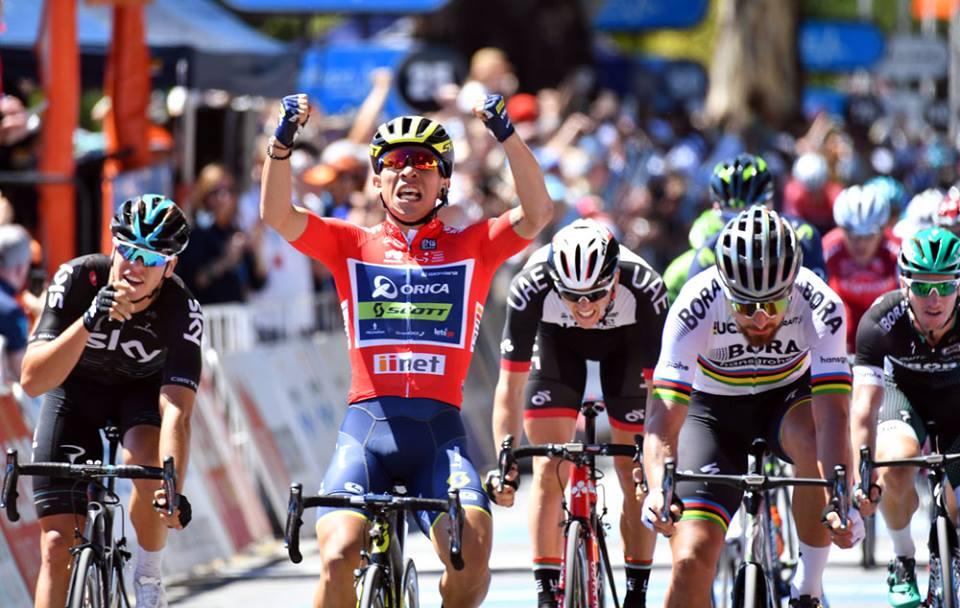 Caleb Ewan vince anche la quarta tappa del Tour Down Under 2017