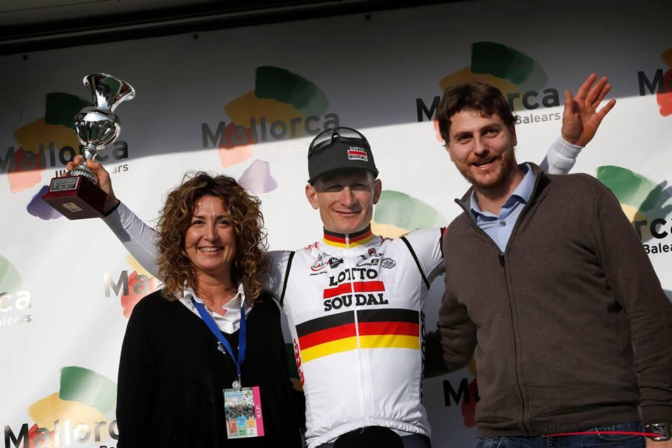André Greipel vincitore del Trofeo Porreres-Felanitx-Salines-Campos