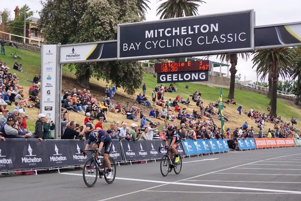 Ian Bibby vince la prima prova del Mitchelton Bay Cycling Classic 2017