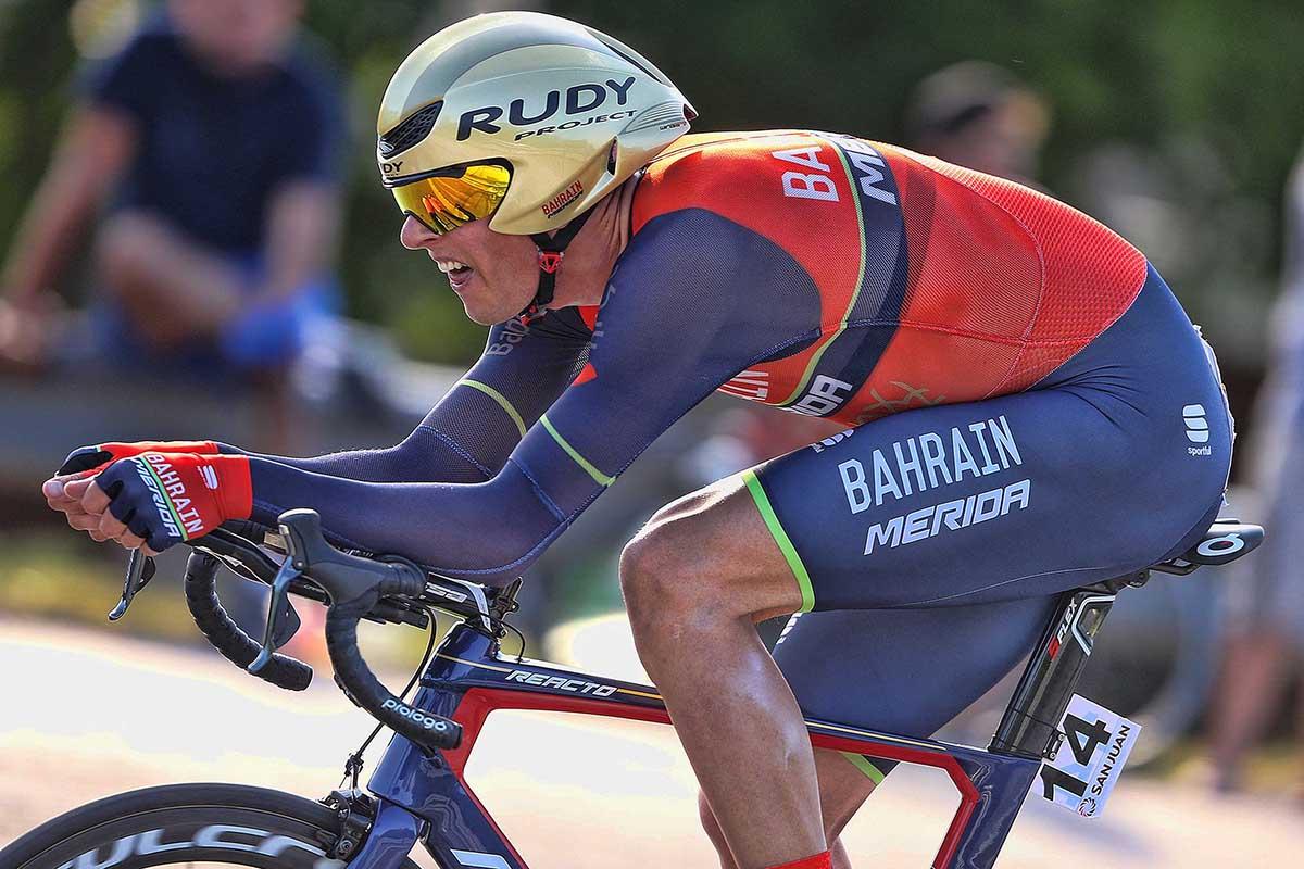 Ramunas Navardauskas vincitore della terza tappa a cronometro della Vuelta a San Juan 2017