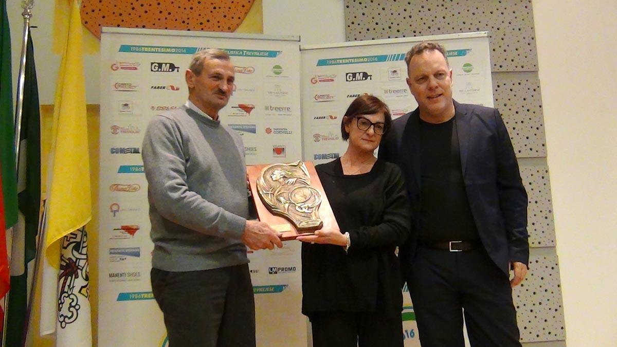 Gianmario Forcella riceve il 2° Memorial Gianni Casati