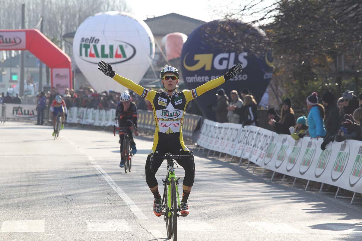 Jakob Dorigoni è campione italiano Under 23 di ciclocross a Silvelle