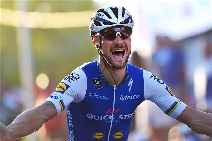 Tom Boonen vince la seconda tappa della Vuelta a San Juan (foto TDW)