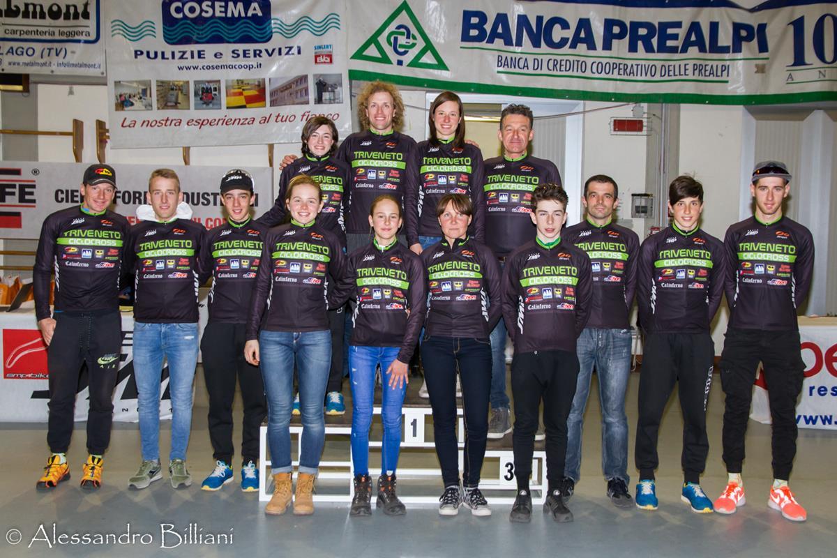 Tutti i vincitori del Trofeo Triveneto Ciclocross